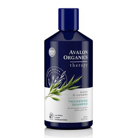 【AVALON ORGANICS】 湛藍B群健髮精油洗髮精