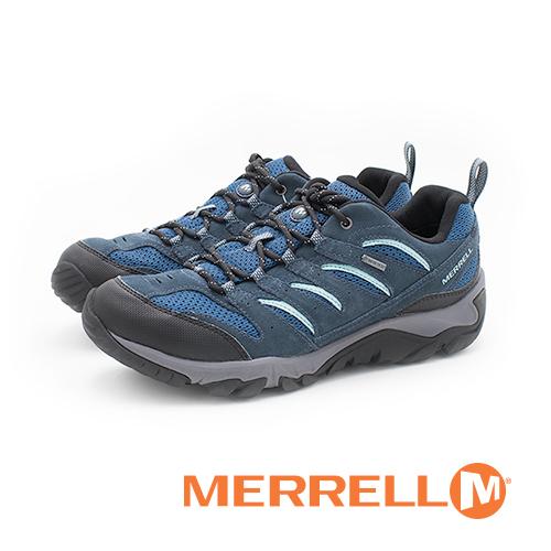 MERRELL(男) WHITE PINE GORE-TEX防水專業功能健行登山 男鞋-藍(另有咖)