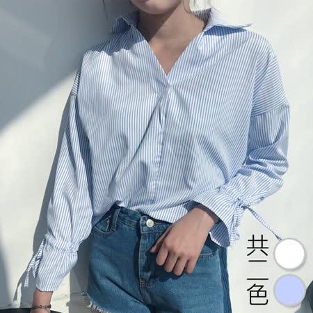 韓國KW 遐想魅誘襯衫修身衣