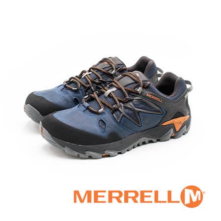 MERRELL(男)ALL OUT BLAZE 2 GORE-TEX®郊山健行 男鞋-藍