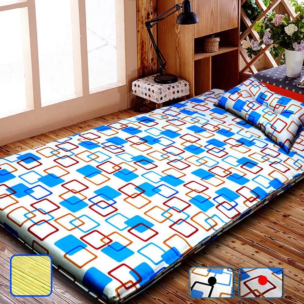 【KOTAS】 冬夏透氣床墊 單人 3尺送記憶枕1顆 單人床墊-紅