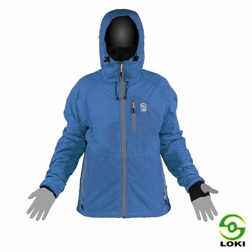 LOKI 男 STINGER JKT防風保暖PRIMALOFT外套(亞洲特別款)(鈷藍)