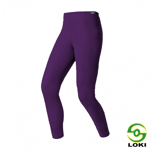 LOKI 女 MUSPEL EXOWARM 保暖內搭褲(貴氣紫)