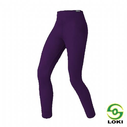 LOKI 童 MUSPEL EXOWARM 保暖內搭褲 (貴氣紫)