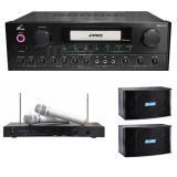 FPRO+EAGLE+FH AUDIO (PMA-328+EWM-P28+K-08) 卡拉OK專業超值組合