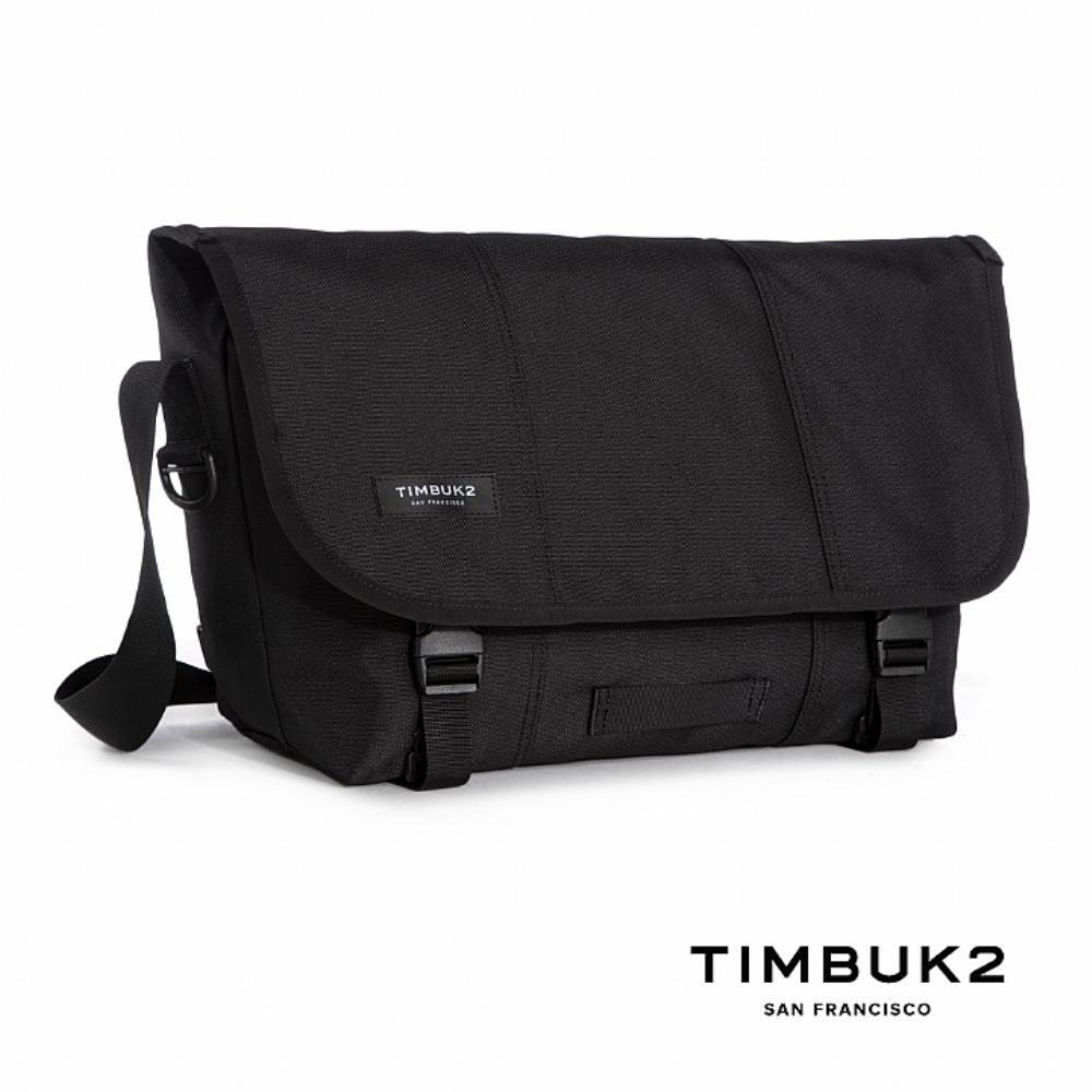 TIMBUK2 CLASSIC MESSENGER經典郵差包 M (21L) (Jet Black(黑色)
