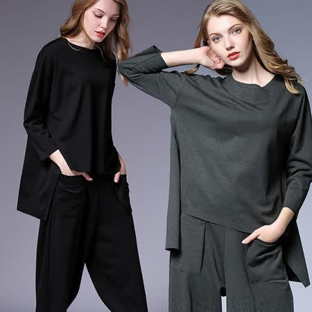 【麗質達人中大碼】QA7031設計款休閒上衣(XL-4XL)