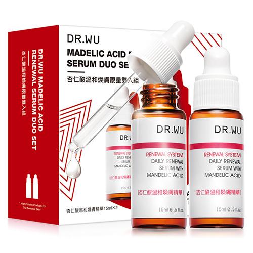 0DR.WU 杏仁酸溫和煥膚限量雙入組