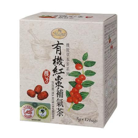 【曼寧】有機紅棗補氣茶6g*12入