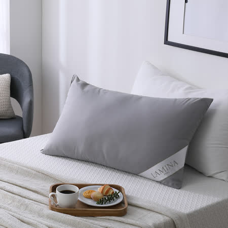LAMINA 咖啡環保紗舒眠枕-1入