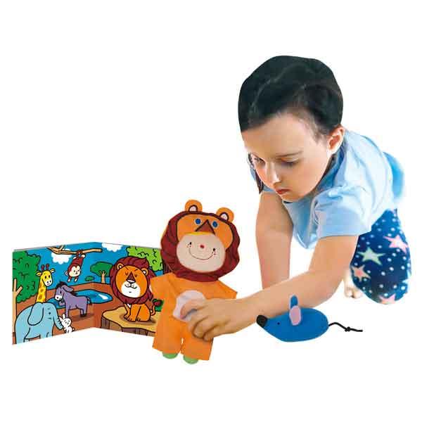 K's Kids 奇智奇思~角色扮演遊戲組︰獅子和兔子