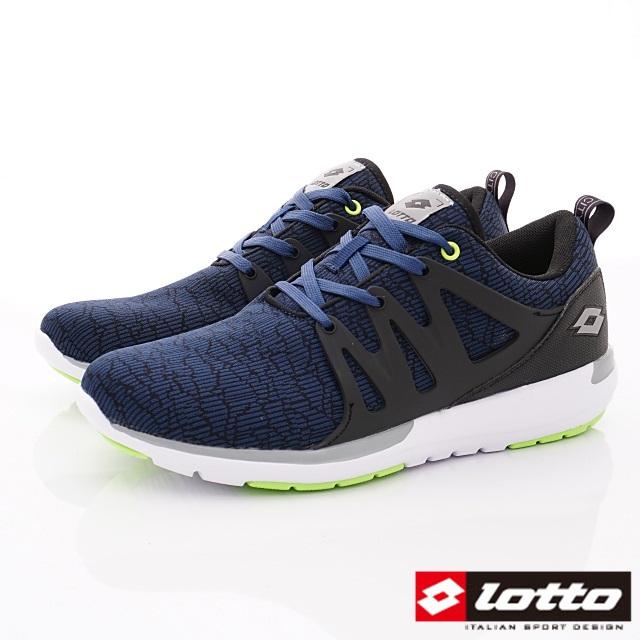 Lotto義大利運動鞋-潮流運動跑鞋-MR6926藍-25.5-29cm