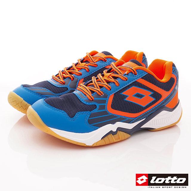 Lotto義大利運動鞋-羽球運動鞋-MI6906藍-25.5-29cm