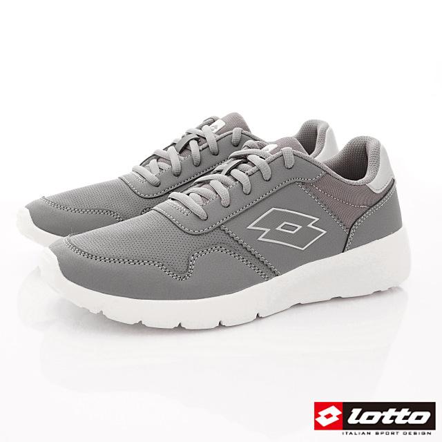 Lotto義大利運動鞋-極致輕量跑鞋-MR7008灰-25.5-29cm