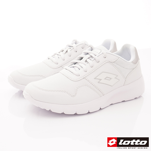 Lotto義大利運動鞋-極致輕量跑鞋-MR7009白-25.5-29cm