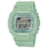 CASIO BABY-G 轟浪女孩運動腕錶-綠-BLX-560-3DR