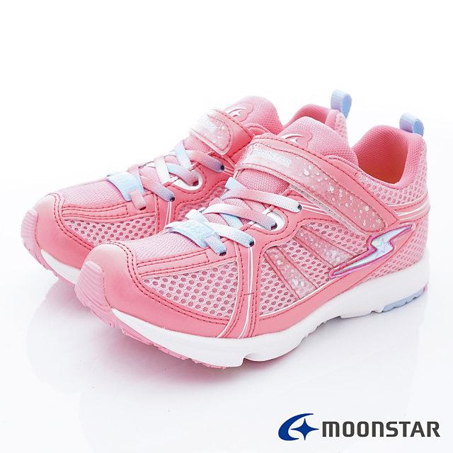 日本月星機能童鞋--維他命女孩甜美款-(SSJ8494粉-19-24.5cm)