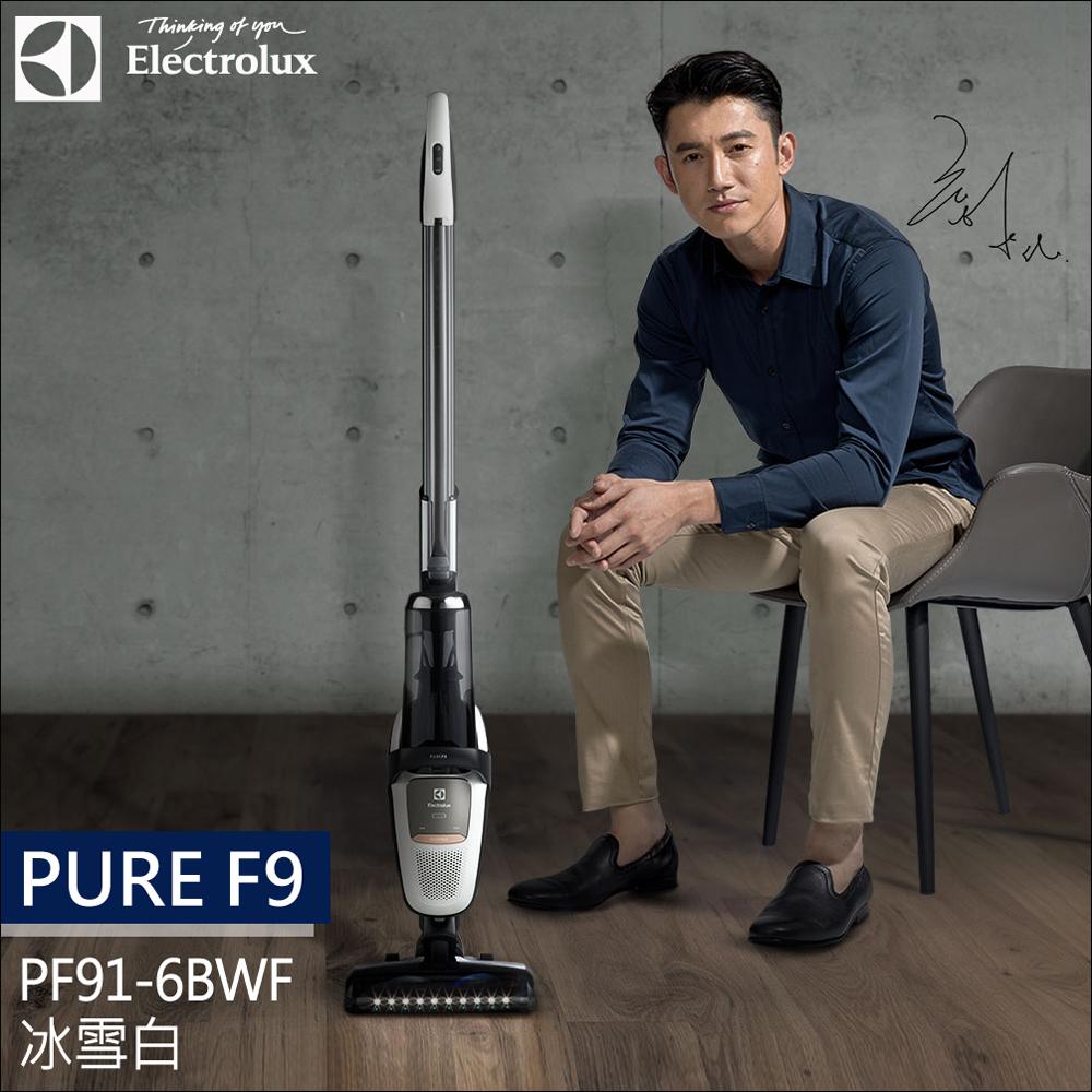 Electrolux 瑞典 伊萊克斯 滑移百變吸塵器Pure F9 (PF91-6BWF) 冰雪白