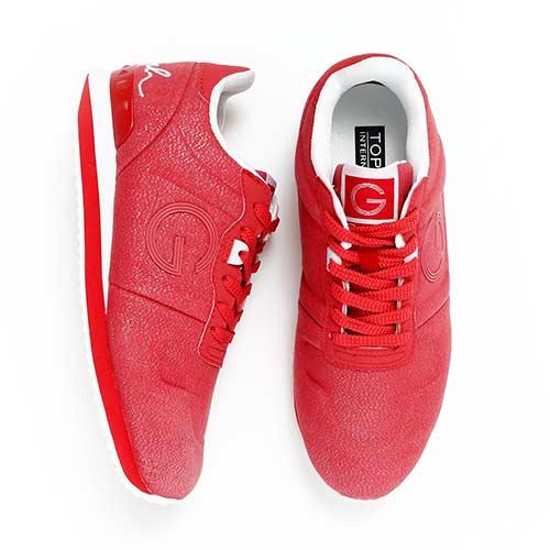 TOP GIRL-經典LOGO運動鞋-紅色