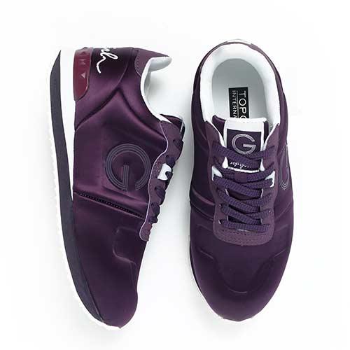 TOP GIRL-經典LOGO運動鞋-紫色