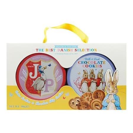 【比得兔】丹麥雙享餅乾禮盒