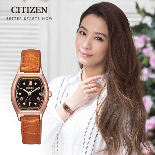 CITIZEN 星辰 xC 璀璨星紗光動能電波腕錶 ES9352-13E