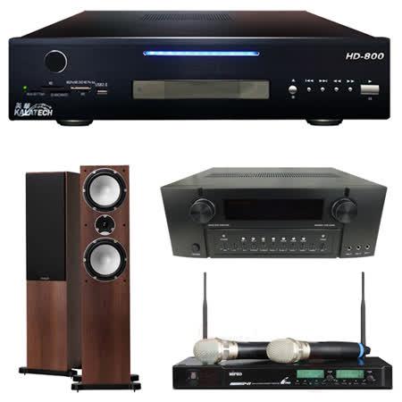 【美華 Kalatech】HD-800 點歌機2TB+BA-1063+ACT-941+Mercury 7.4