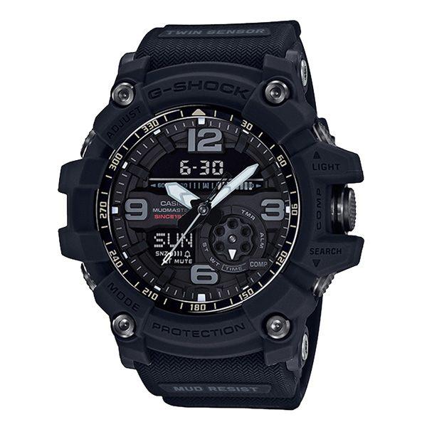 CASIO G-SHOCK系列 席捲極限探險家35周年運動錶-黑-GG-1035A-1ADR