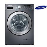 【限時9折優惠】三星14公斤變頻滾筒洗脫烘洗衣機WD14F5K5ASG/TW(黑色)