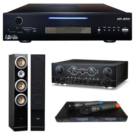 【美華 Kalatech】HD-800 點歌機2TB+FM-150A+EWM-R96+QX900