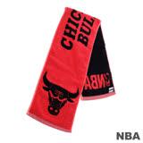 NBA-芝加哥公牛隊緹花運動毛巾-紅