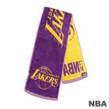 NBA-洛杉磯湖人隊緹花運動毛巾-紫