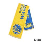 NBA-金州勇士隊緹花運動毛巾-藍
