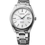 SEIKO精工 Presage 纖薄非凡 限量機械錶(SJE073J1)-銀/40.7mm6L35-00A0S