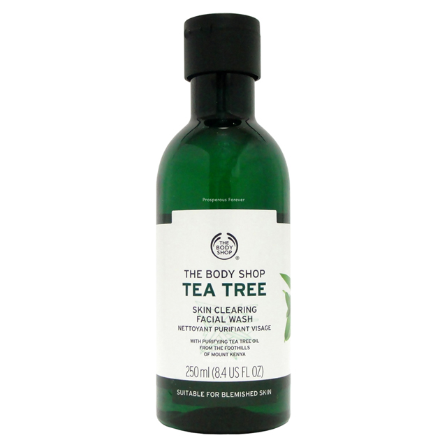 The Body Shop 茶樹淨膚深層潔面膠250ml