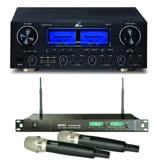 【FPRO】RV-9 卡拉OK 擴大機+MIPRO ACT-869 PRO雙頻 自動選訊 無線麥克風