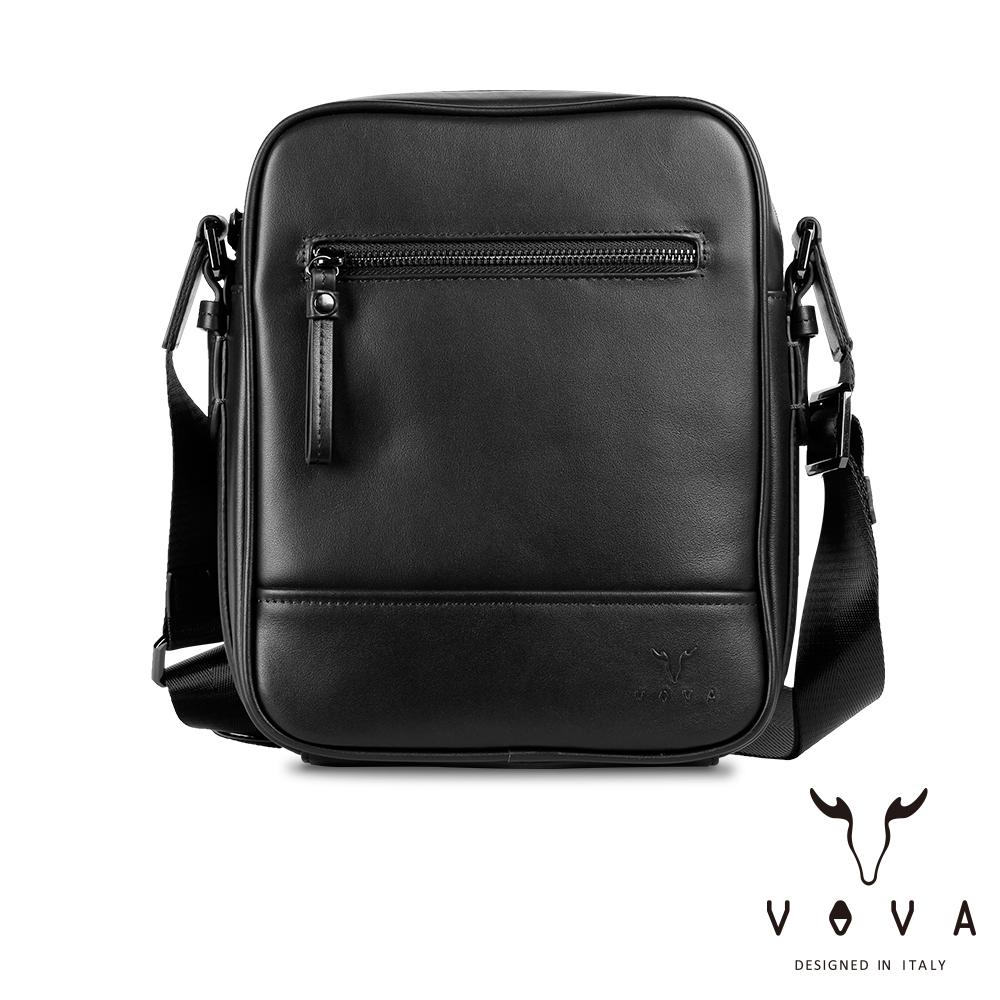 【VOVA】公爵系列職人直式斜背包(貴族黑)VA120S01BK