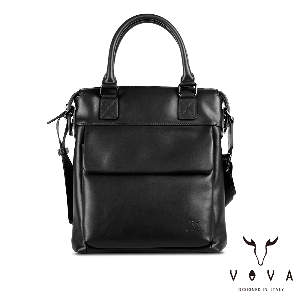 【VOVA】公爵系列職人手提/斜背兩用包(貴族黑)VA120S05BK
