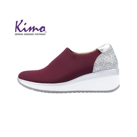 Kimo德國手工氣墊鞋 針織設計運動風休閒鞋