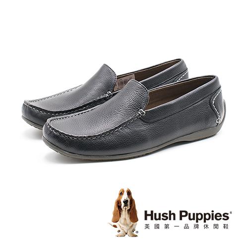 Hush Puppies SCHNAUZER SLIPON雪納瑞便鞋 男鞋-黑(另有棕)