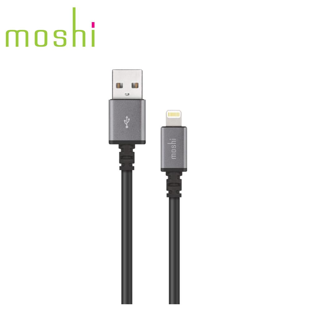 Moshi Lightning - USB傳輸線 黑色(3m)