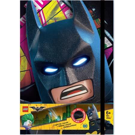 【LEGO】蝙蝠俠電影 -LED燈筆記本