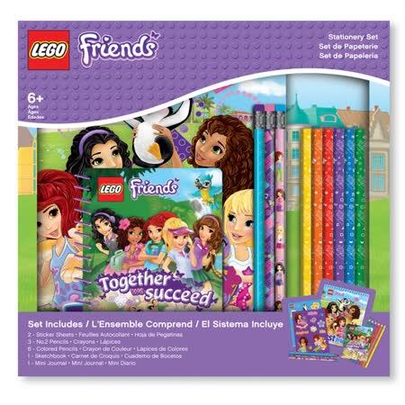 【LEGO】 女孩系列-文具禮盒組