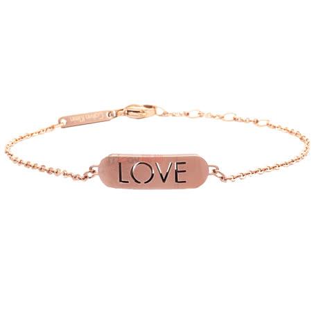 Calvin Klein  LOVE 手鍊-玫瑰金