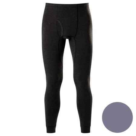DADADO-極衣恆溫紗素面 M-LL 保暖褲(灰)