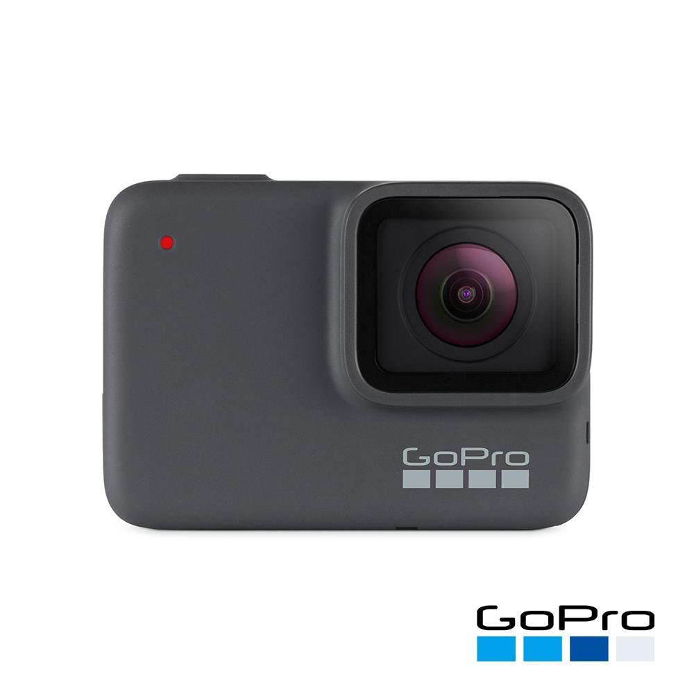 【GoPro】HERO7 Silver運動攝影機CHDHC-601-LE(忠欣公司貨)