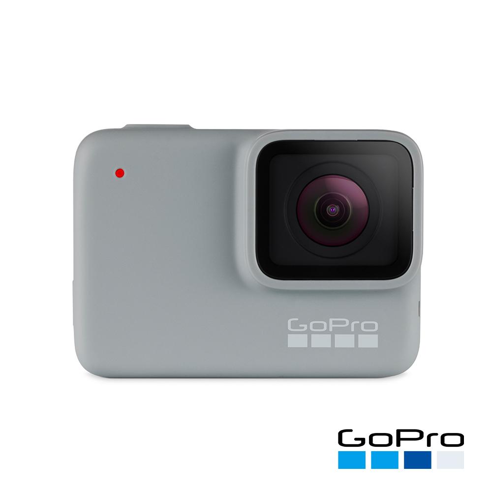 【GoPro】HERO7 White運動攝影機CHDHB-601-LE(忠欣公司貨)