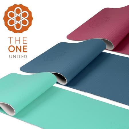 【The One】 TPE雙色瑜珈墊 6mm