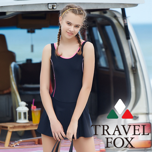 【旅狐TRAVEL FOX】大女連身帶裙c18701