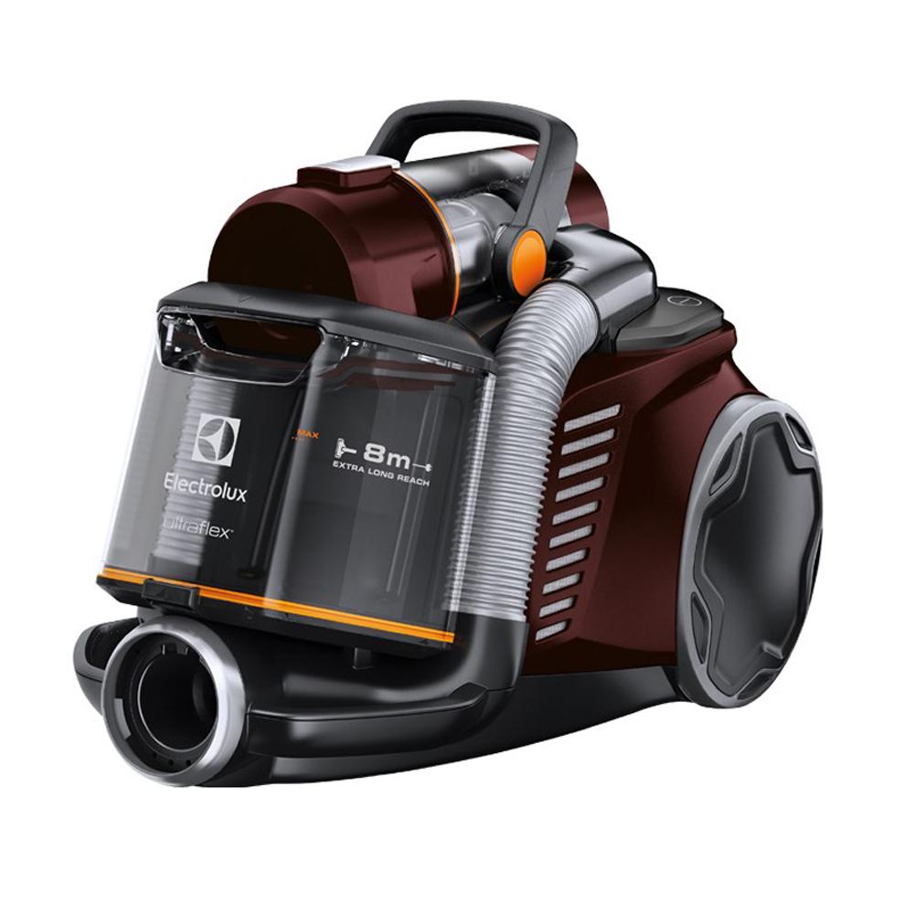 【加贈除塵清潔組+風動渦輪吸頭】伊萊克斯 Ultraflex旋風集塵盒吸塵器ZUF4303REM